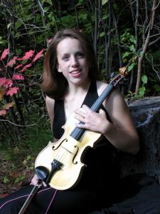 Jessie with violin
